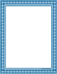 Designer Paper - Blue (50 Sheet Package)