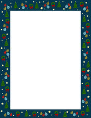 Designer Paper - Christmas Wrap (50 Sheet Package)