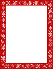 Designer Paper - Christmas Snow (50 Sheet Package)