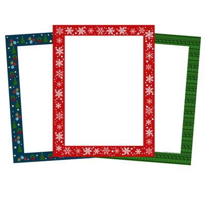Designer Paper Set - Holly Daze - Creative Shapes Etc.