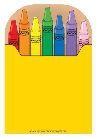 Picture of Large Notepad - Crayon Box