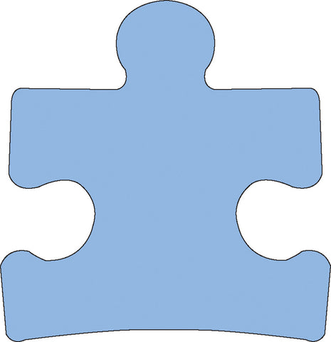 Picture of Sticky Shape Notepad - Puzzle Piece