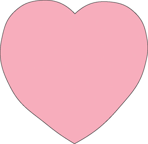Picture of Sticky Shape Notepad - Pink Heart
