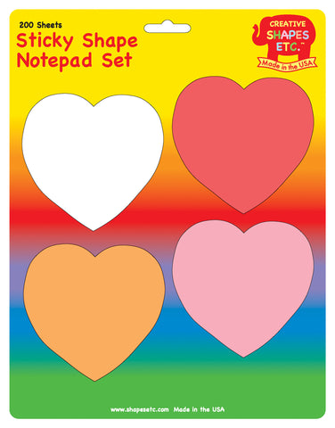 Picture of Sticky Notepad Set - Valentines