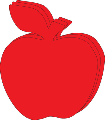 "Apple Single Color Super Cut-Outs- 8"" x 10"" - Creative Shapes Etc."