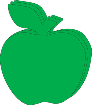 "Green Apple Single Color Super Cut-Outs- 8"" x 10"" - Creative Shapes Etc."