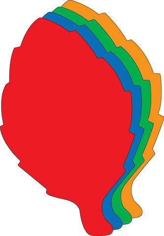 Picture of Super Cut-Outs - Assorted Color Leaf