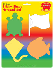 Sticky Notepad Set - Summer