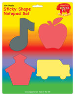 Picture of Sticky Notepad Set - Back To School
