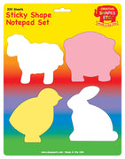 Sticky Notepad Set - Farm - Creative Shapes Etc.