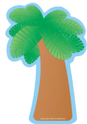 Large Notepad - Palm Tree