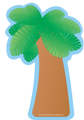 Picture of Large Notepad - Palm Tree