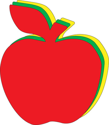 "Apple Tri-Color Super Cut-Outs- 8"" x 10"" - Creative Shapes Etc."