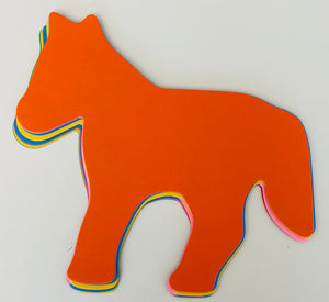 "Horse Assorted Color Super Cut-Outs- 8"" x 10"""