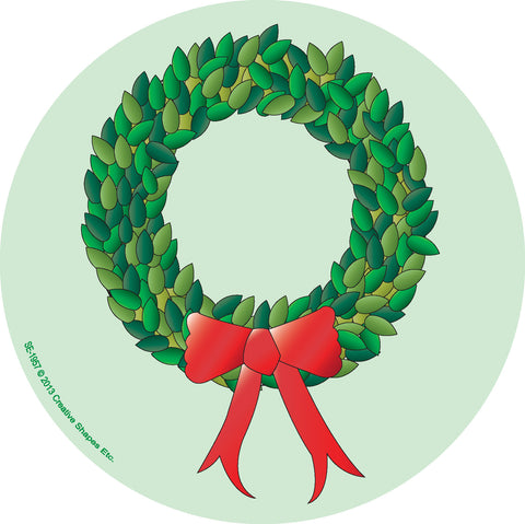 Picture of Large Notepad - Wreath