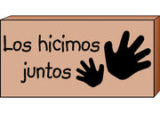 Teacher's Stamps Spanish - Los hicimos juntos (Did Together) - Creative Shapes Etc.