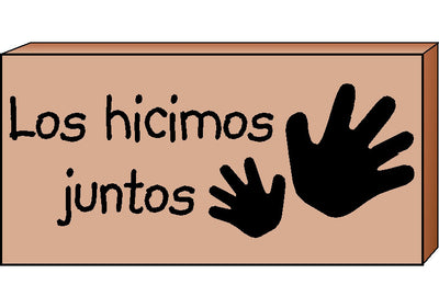 Teacher's Stamps Spanish - Los hicimos juntos (Did Together)