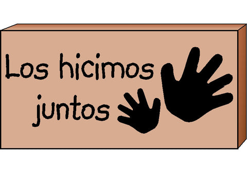 Picture of Teacher's Stamps Spanish - Los hicimos juntos (Did Together)