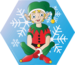 Picture of Mini Notepad -  Elf Sitting