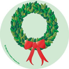 Mini Notepad - Wreath