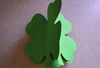 Small Single Color Cut-Out - Four Leaf Clover