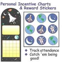 Incentive Sticker Set - Space