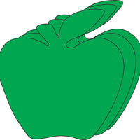 Small Single Color Cut-Out - Green Apple