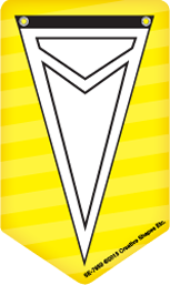 Picture of Mini Notepad - Sport Pennant