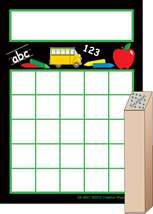 Progress Pad/ Stamps Set - School Days - Creative Shapes Etc.