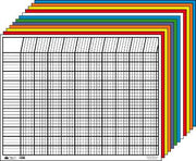Horizontal Chart - Set of 12 - Creative Shapes Etc.