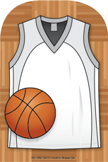 Large Notepad - Basketball Jersey