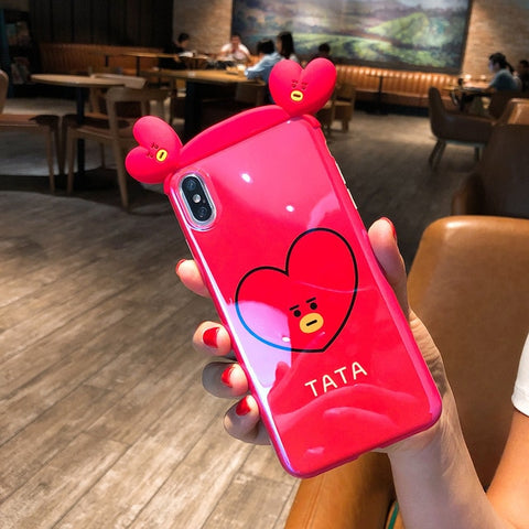 Super Cute BT21 TATA 3D Phone Case