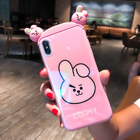 Super Cute BT21 COOKY 3D Phone Case