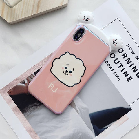 Super Cute BT21 RJ 3D Phone Case