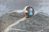 Large Mystical Labradorite Ring