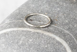 Little Hammered Stacking Ring
