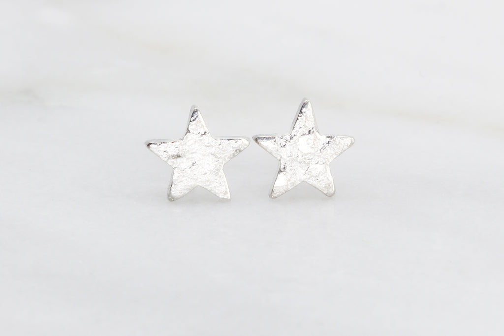 Tiny Star Stud Earrings