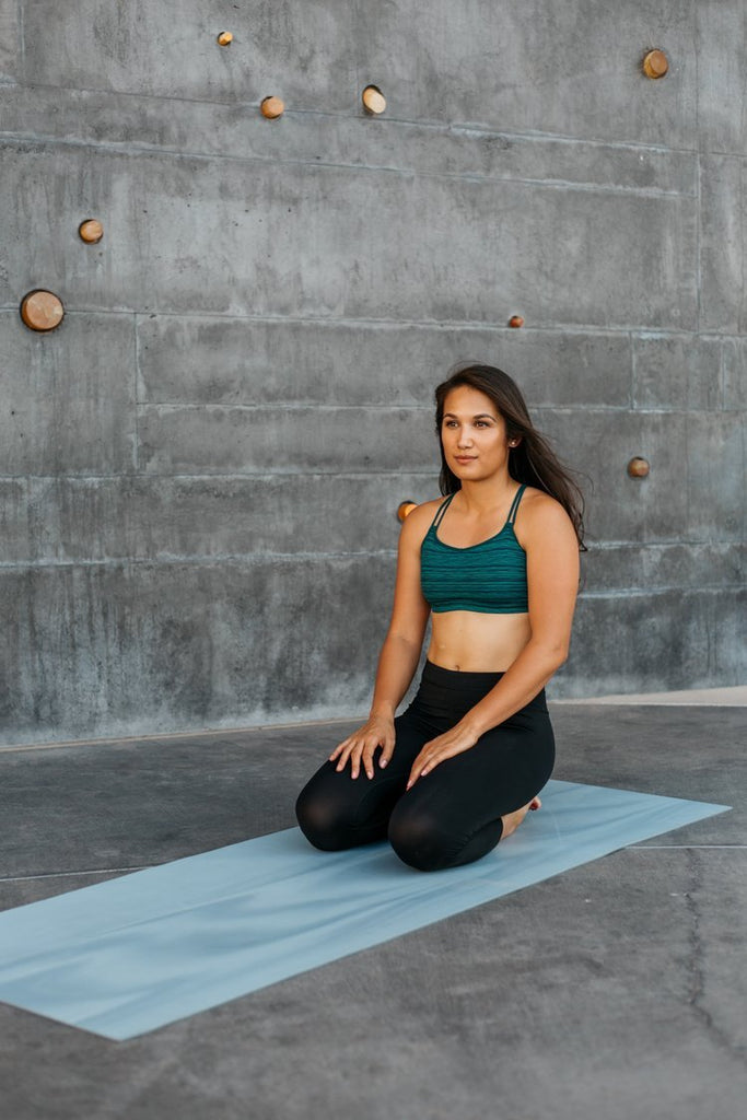 Pelvic Floor Health woman in yoga pose