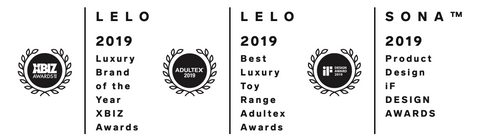 Lelo's most recent awards
