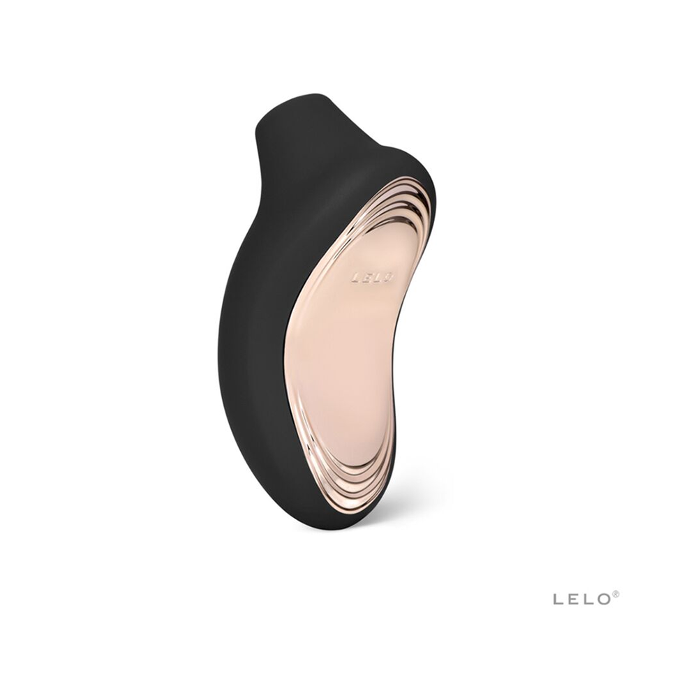Sona 2 Cruise Rechargeable Clitoral Stimulator by Lelo in black