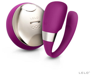 Tiani 3 Couples Vibrator by Lelo in Deep Rose