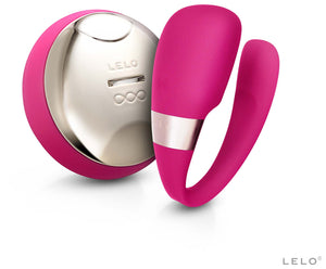 Tiani 3 Couples Vibrator by Lelo in Cerise