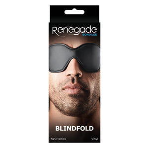 Renegade Bondage Blindfold Black for men