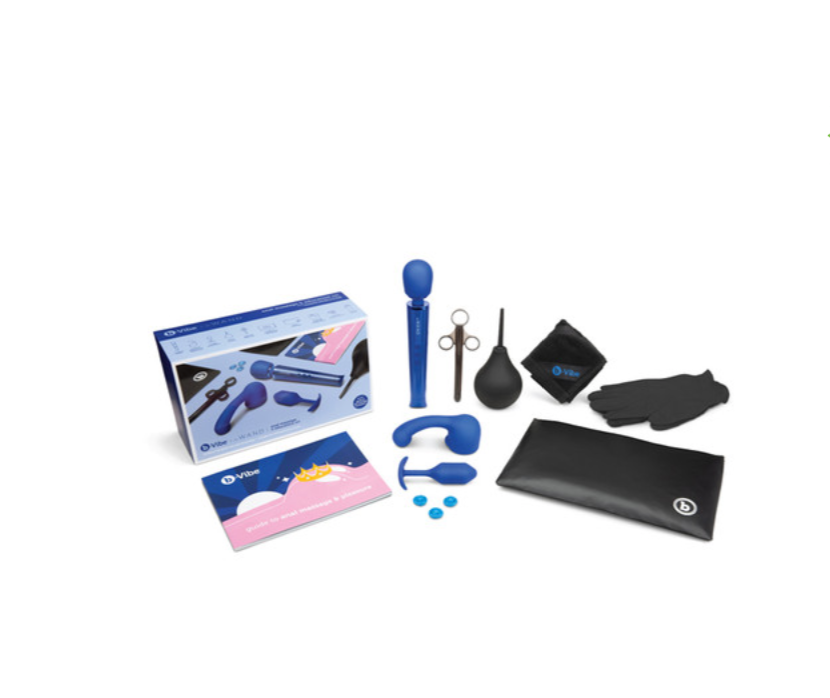 Anal Massager and Education 10 Piece Set