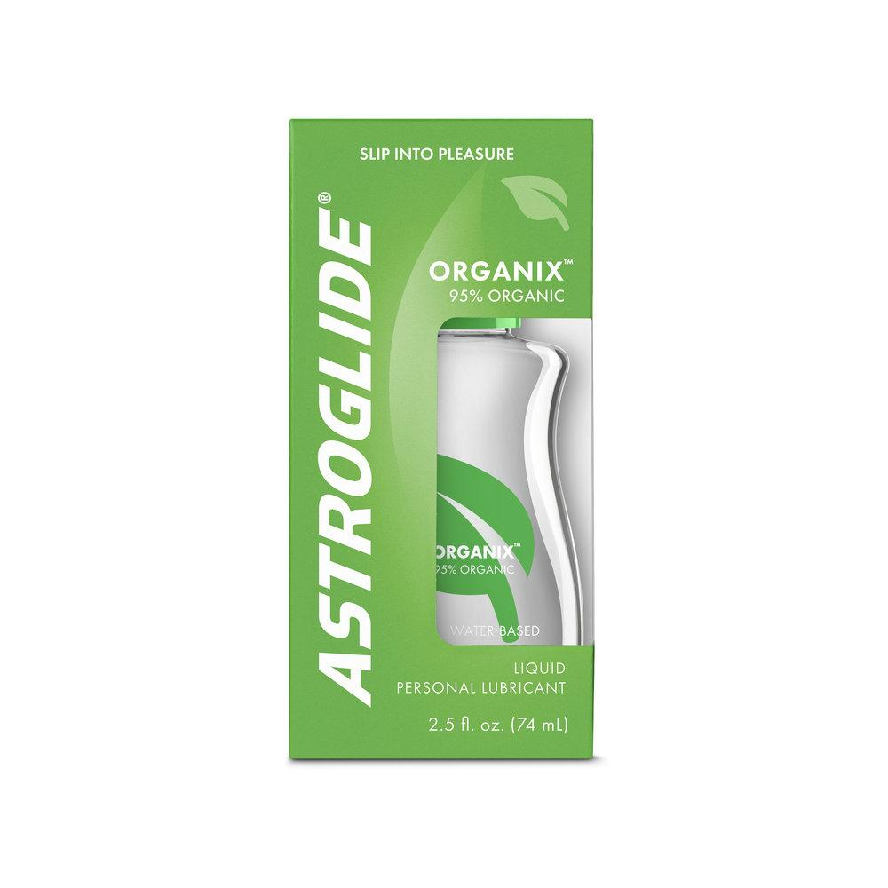 Astroglide Organix Liquid packaging
