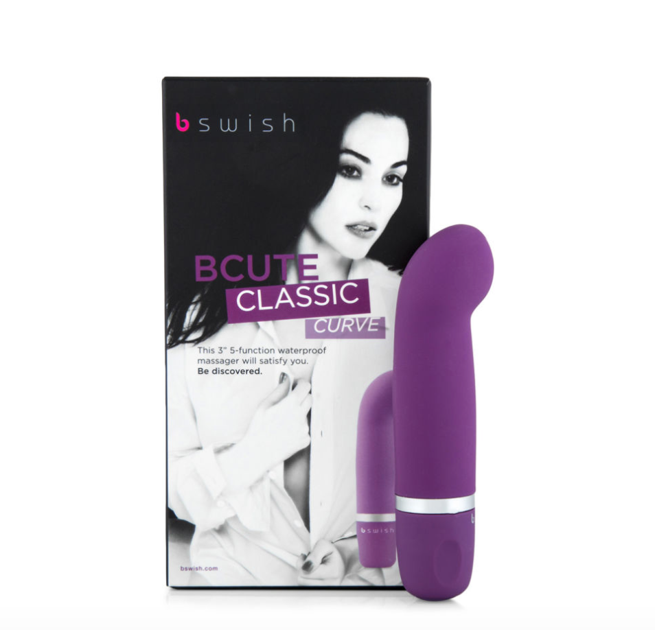 B Swish Bcute Classic Curve Massager - Royal Purple