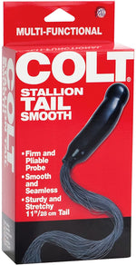 Colt stallion tail ribbed by Calexotics