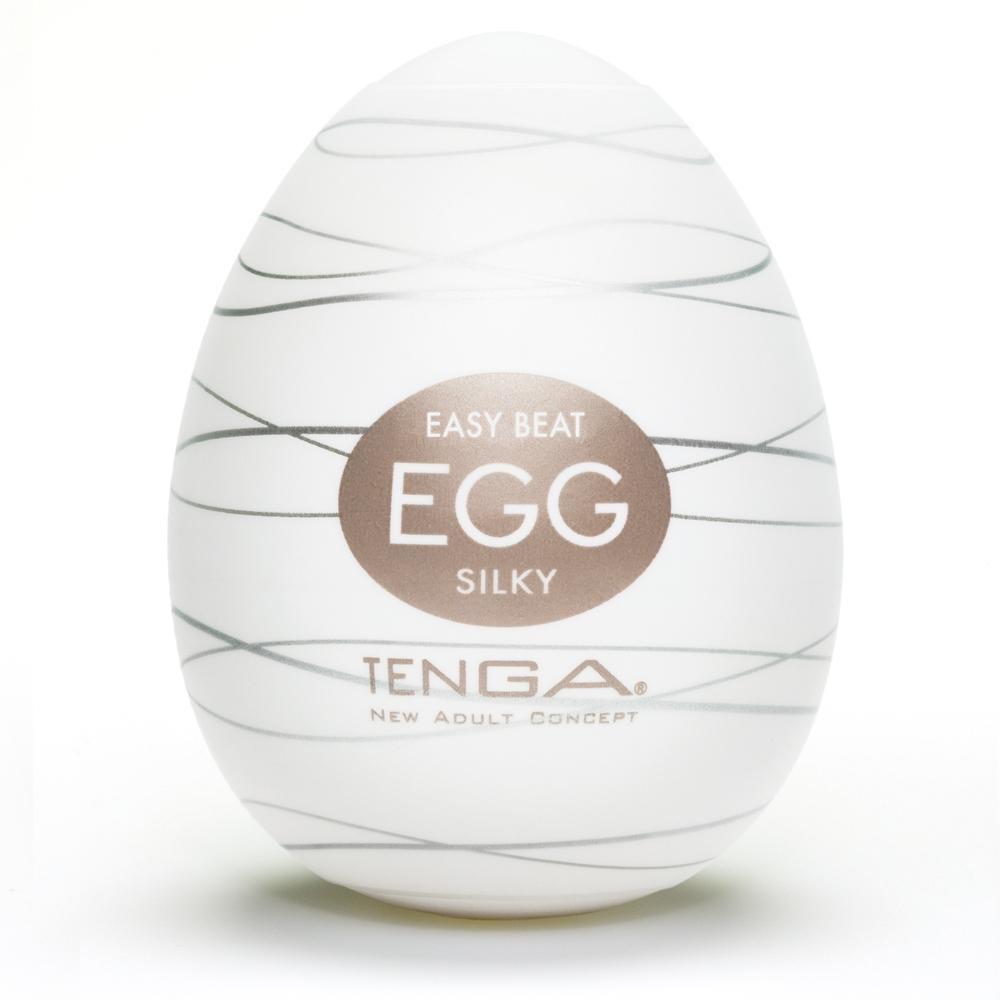 Egg Textured Male Masturbator by Tenga - Silky