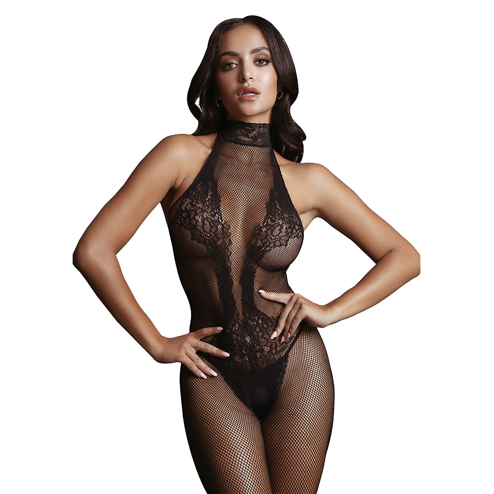 Fishnet and Lace Bodystocking by Le Desir