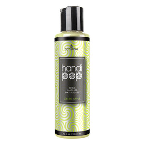 Handicap Handjob Massage Gel - Green Apple